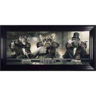 Frenchie Cartel Framed Picture