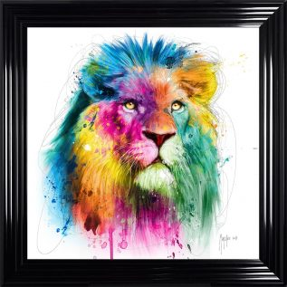 Lion 2 Framed Picture.