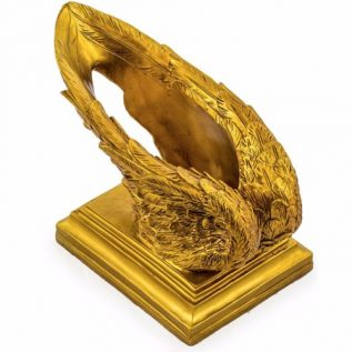 Gold Wings Wine Bottle Holder