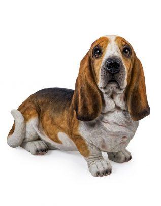 Large Basset Hound Figure