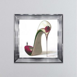 Frizzante Heel Framed Picture