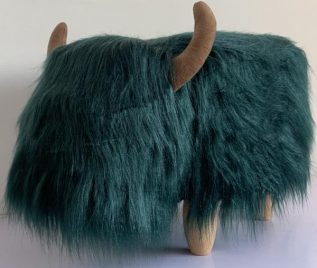 Penelope The Highland Cow Footstool