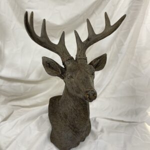 Bronze Deer Head