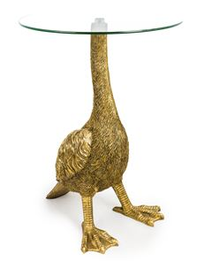 Gold Goose Side Table