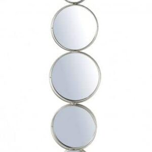 Link Wall Mirror in Silver