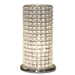 Clear Crystal Touch Table Lamp