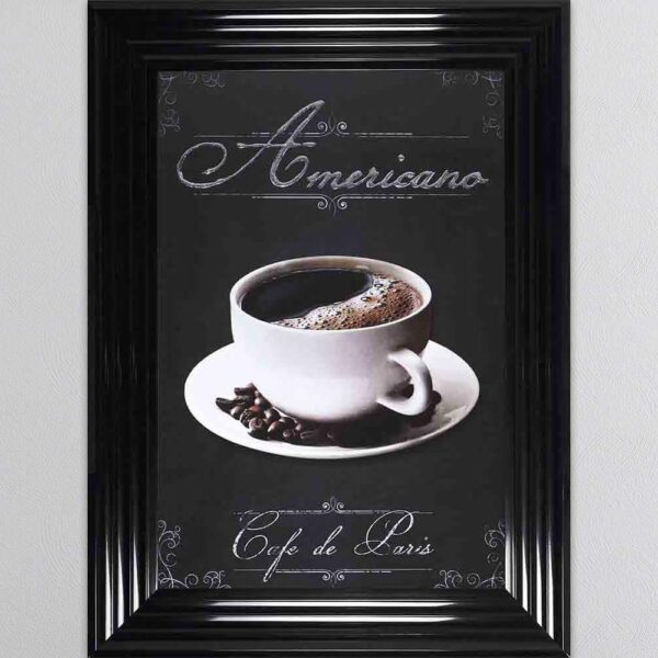 Americano Framed Picture