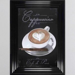 Cappuccino Framed Picture