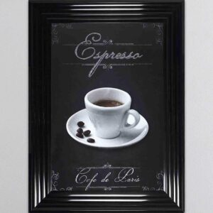 Espresso Framed Picture