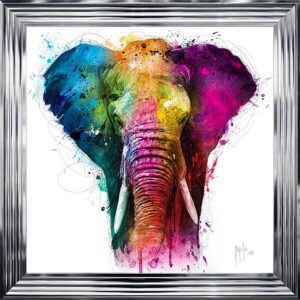 Africa Elephant Framed Picture by Patrice Murciano