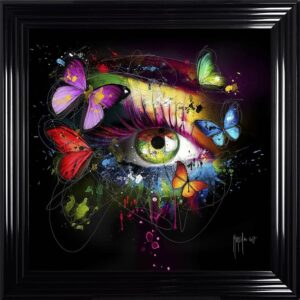 Butterfly Eye Framed Picture by Patrice Murciano