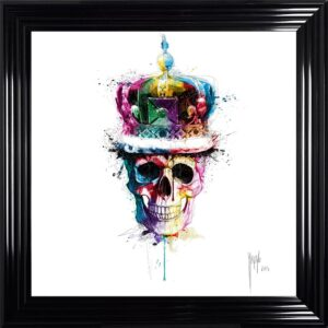 God Save The Queen Framed Picture by Patrice Murciano