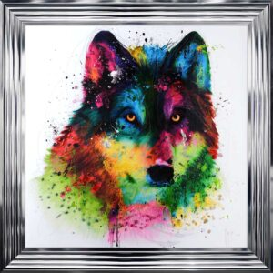 Wolf Framed Picture by Patrice Murciano