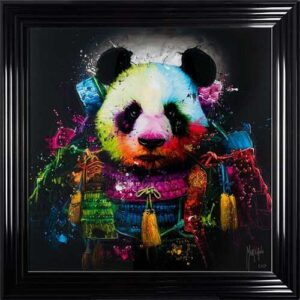 Panda Samurai Framed Picture by Patrice Murciano