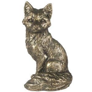 Antique Bronze Fox Ornament